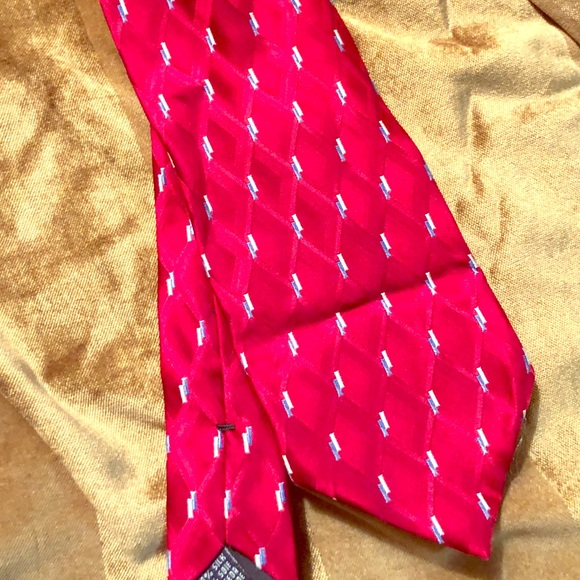 Meeting Street Other - Meeting Street 100% Silk Red Standard Tie.